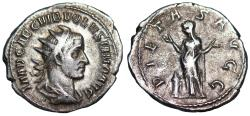 Ancient Coins - Volusian PIETAS AVGG from Rome