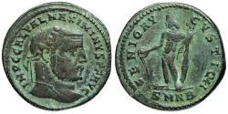 Ancient Coins - Maximinus II GENIO AVGVSTI CMH from Nicomedia
