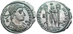 Ancient Coins - Constantius II CONCORDIA MILITVM from Siscia...minted under Vetranio