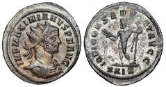 Ancient Coins - Maximianus IOVI CONSERVAT AVGG from Rome…looks like Carinus