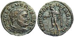 Ancient Coins - Severus II GENIO POPVLI ROMANI from Siscia