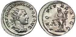 Ancient Coins - Philip I AEQVITAS AVGG from Rome