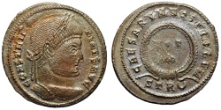 Ancient Coins - Constantine I from Trier with Caesar votive reverse…hybrid