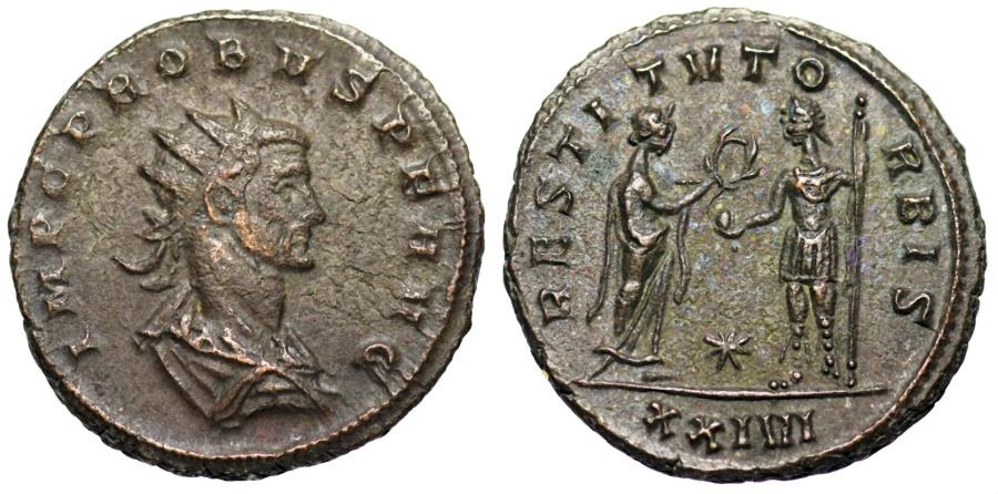 Ancient Coins - Probus RESTITVT ORBIS from Siscia