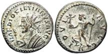 Ancient Coins - Diocletian IOVI from Lyons