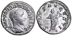 Ancient Coins - Gordian III SALVS AVGSTI denarius from Rome