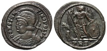 Ancient Coins - Constantinopolis Commerative from Trier