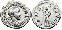 Gordian III IOVI STATOR denarius from Rome