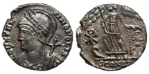 Ancient Coins - Constantinopolis Commemorative from Arles with Chi-Rho