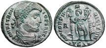Ancient Coins - Vetranio CONCORDIA MILITVM from Thessalonica