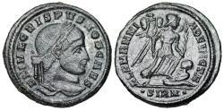Ancient Coins - Crispus ALAMANNIA DEVICTA from Sirmium