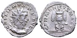 Ancient Coins - Gallienus GERMANICVS MAX V from Lyons/ Cologne