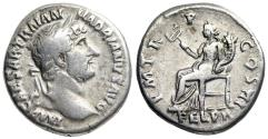 Ancient Coins - Hadrian P M TR P COS III; Felicitas from Rome