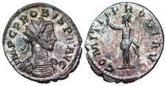 Ancient Coins - Probus COMITI PROBI AVG Minerva from Lyons