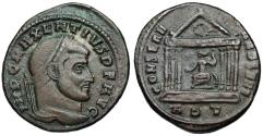 Ancient Coins - Maxentius CONSERV VRB SVAE from Rome
