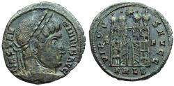 Ancient Coins - Constantine I campgate from Arles...unofficial issue