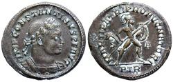 Ancient Coins - Constantine I MARTI PATRI PROPVGNATORI from Trier