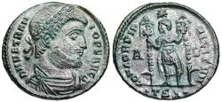 Ancient Coins - Vetranio CONCORDIA MILITVM from Thessalonica
