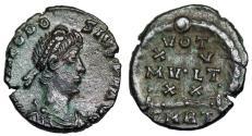 Ancient Coins - Theodosius I VOT XV MVLT XX from Rome…ex-Dattari