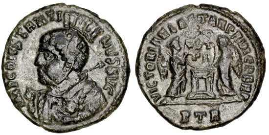 Ancient Coins - Constantine I VLPP's from Trier...set of die-matched coins