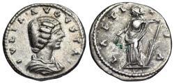 Ancient Coins - Julia Domna LAETITIA from Laodicea