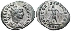 Ancient Coins - Diocletian IOVI CONSERVAT AVGG from Rome