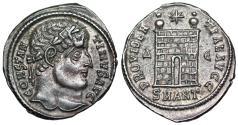 "Ancient Coins - Constantine I campgate from Antioch...ex-Dattari...""death"" workshop"