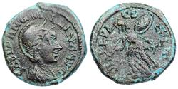 Ancient Coins - Tranquillina from Deultum with Athena reverse