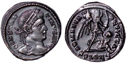 Ancient Coins - Constantine I SARMATIA DEVICTA from London