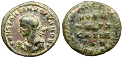 Ancient Coins - Constantine II VOT V  MVLT X  CAESS  from Thessalonica