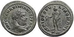 Ancient Coins - Maximianus GENIO POP from Cyzicus
