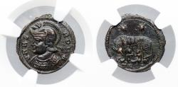 Ancient Coins - VRBS ROMA wolf and twins from Trier...NGC certified
