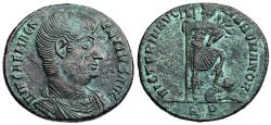 Ancient Coins - Magnentius VICTORIA AVG LIB ROMANOR from Rome