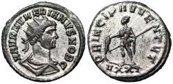 Ancient Coins - Numerian PRINCIPI IVVENT from Ticinum