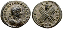 Ancient Coins - Constantine II VIRT EXERC from Thessalonica