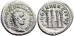 Ancient Coins - Philip I FIDES EXERCITVS from Rome