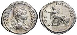 Ancient Coins - Caracalla SECVRIT ORBIS from Rome
