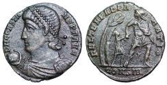 Ancient Coins - Constans FEL TEMP hut from Constantinople