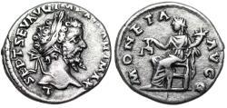 Ancient Coins - Septimius Severus MONETA AVGG from Laodicea