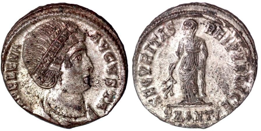 Ancient Coins - Helena SECVRITAS REIPVBLICE Antioch