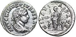 Ancient Coins - Elagabalus HILARITAS AVG from Antioch