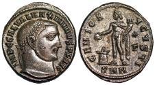 Ancient Coins - Maximinus II GENIO AVGVSTI from Nicomedia