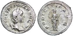 Ancient Coins - Herennia Etruscilla PVDICITIA AVG from Rome