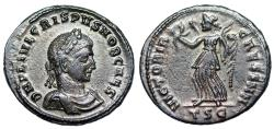 Ancient Coins - Crispus VICTORIA CAESS NN from Thessalonica