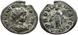 Ancient Coins - Numerian  PROVIDENT AVGG from Ticinum