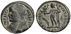 Ancient Coins - Licinius I IOVI CONSERVATORI from Nicomedia...star on chest