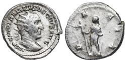 Ancient Coins - Trajan Decius DACIA from Rome