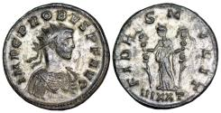 Ancient Coins - Probus FIDES MILIT from Ticinum