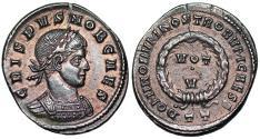 Ancient Coins - Crispus VOT V from Ticinum… ex-Dattari