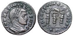 Ancient Coins - Maximinus II SPQR OPTIMO PRINCIPI from Rome